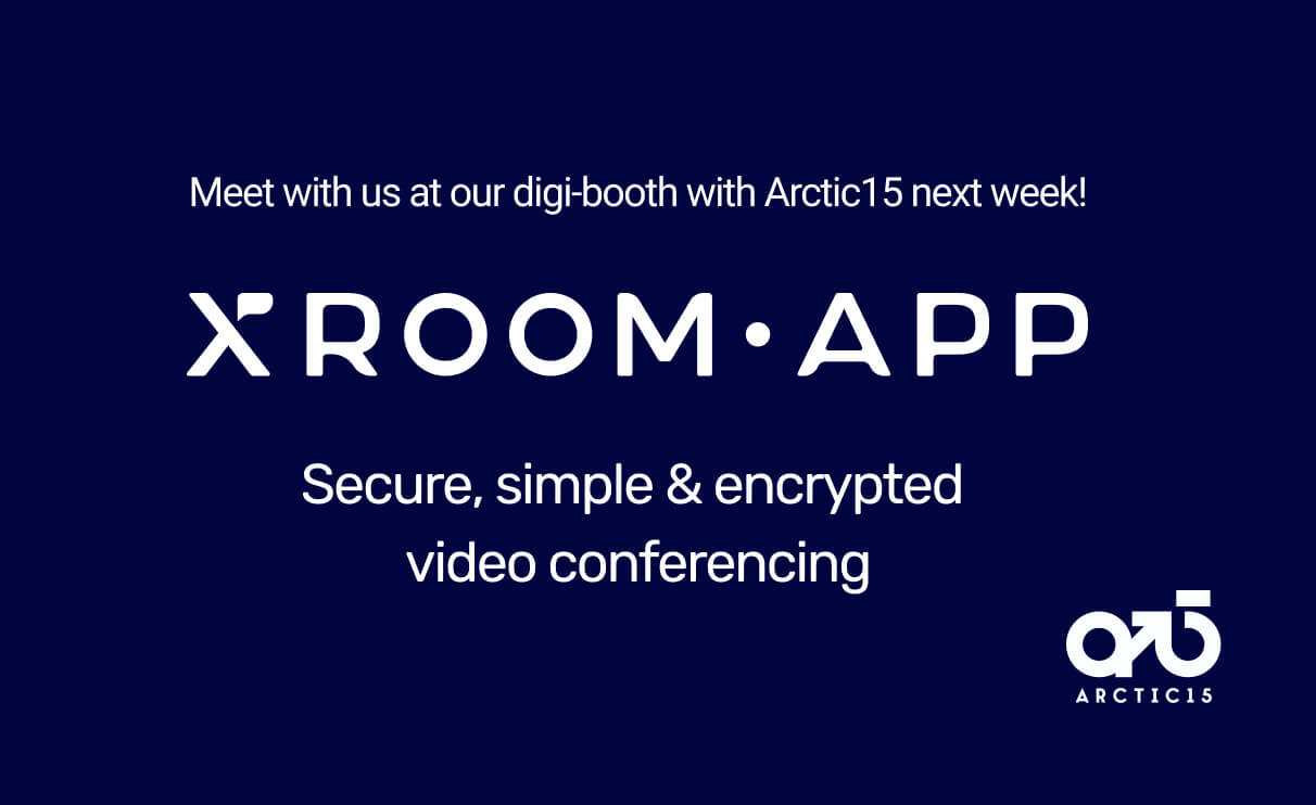 Visit xroom.app's digital booth at Arctic15!