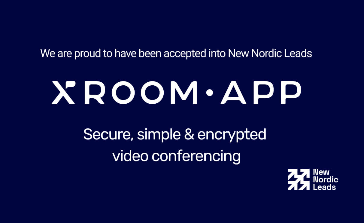 xroom.app has been accepted into New Nordic Leads' 2020-2021 startup programme