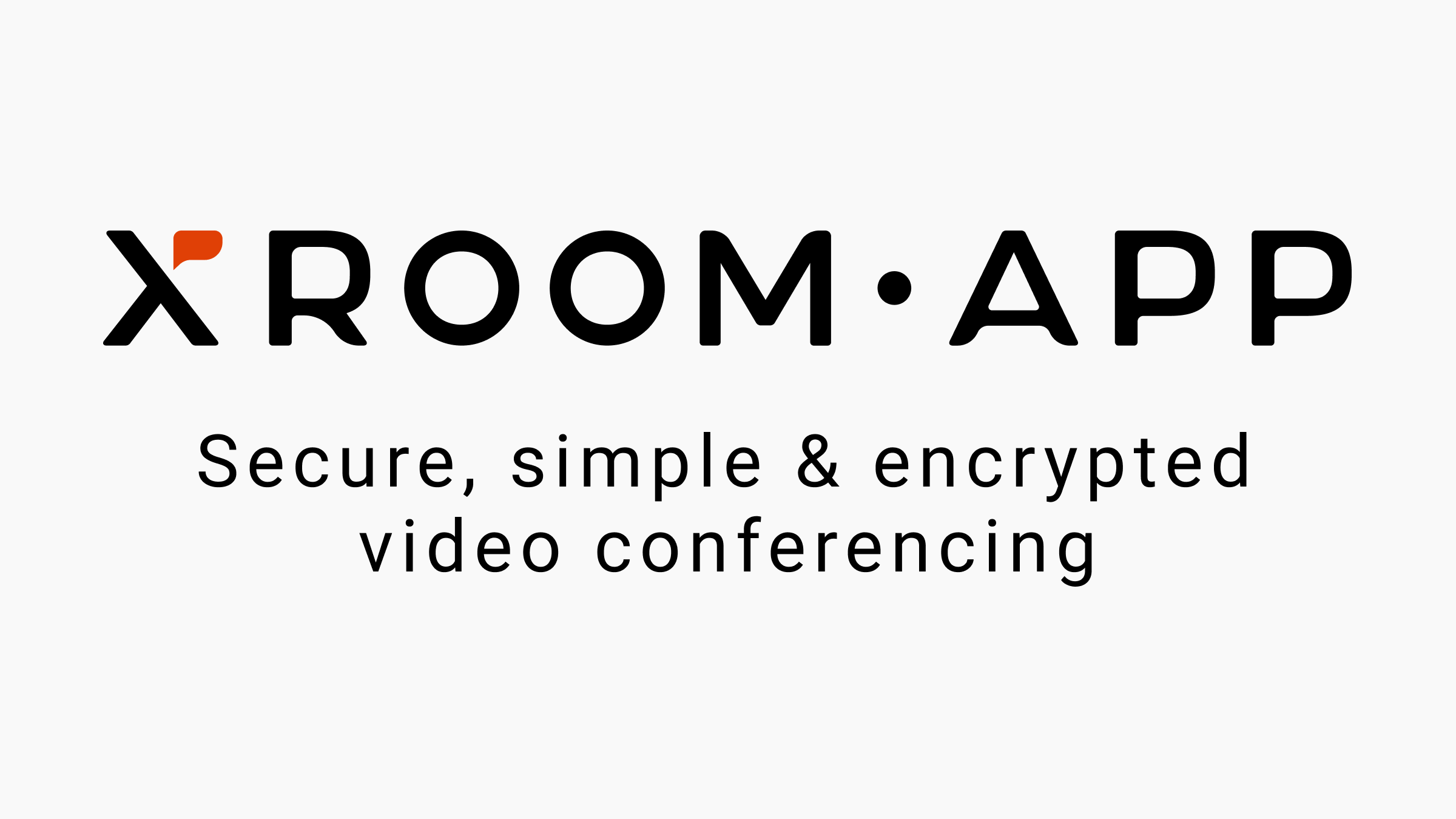Secure, simple and encrypted video conferencing